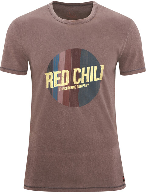 Red Chili Apani - T-shirt manches courtes Homme - marron